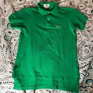 Womens Izod Lacoste Polo Shirt Size Small Green
